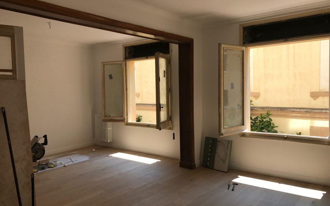 Proyecto de obra de vivienda en Sant Antoni, Barcelona