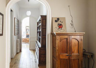 Proyecto de interiorismo para vivienda en Gran de Gracia, Barcelona