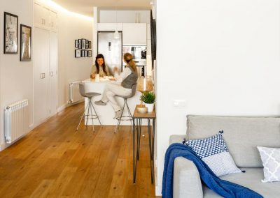 Reforma de vivienda en Calle Europa de Barcelona 6