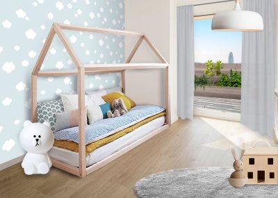 Un espacio: muchas posibilidades infantil