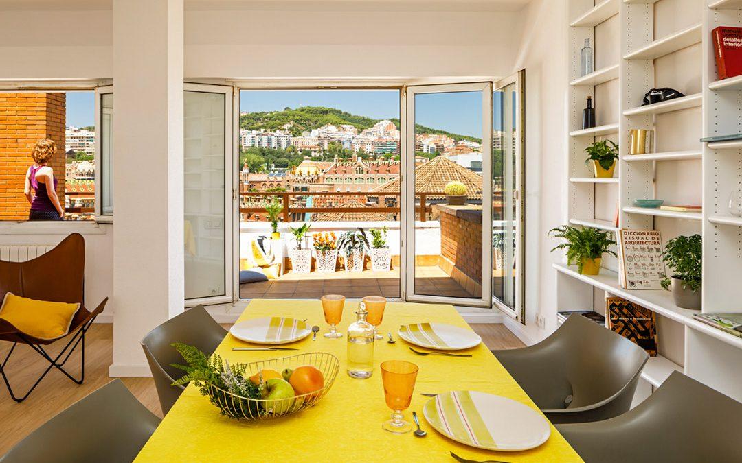 Reforma de vivienda para alquilar Sant Antoni Mª Claret, Barcelona