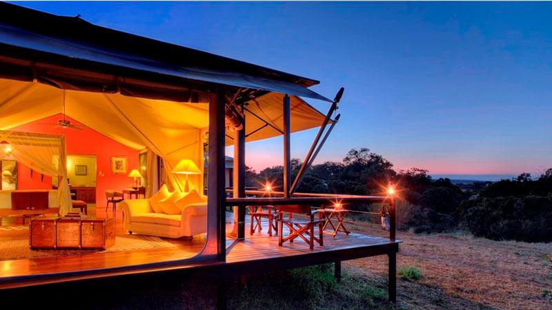 Hotel Olare Mara Kempinski Kenia