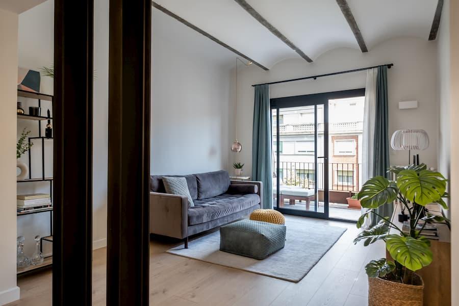 Proyecto y obra de reforma integral en una vivienda en la calle Balmes de Barcelona