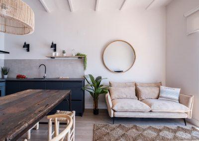 Interior design project for a holiday rental flat in Calella de Palafrugell (Costa Brava)