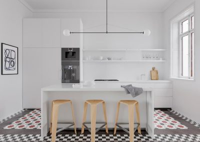 Interior design project for a house on Rambla Catalunya
